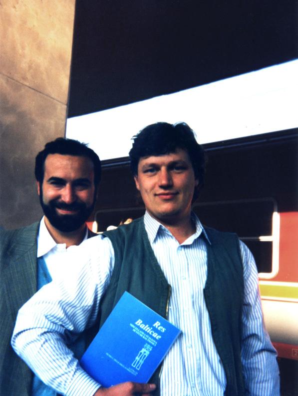 P. U. Dini e N. Mikhailov, i fondatori della rivista