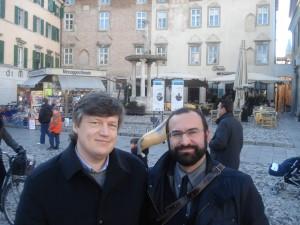 N. Nikhailov e P.U.D. Udine, in Piazza delle Erbe